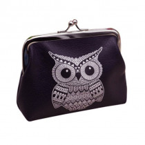 Aelicy Owl High Quality coin purse leather women wallets with coin pocket handbag bag coin purse credit card wallet women