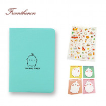 Fromthenon 2018-2019 Cute Kawaii Notebook Cartoon Cute Lovely Journal Diary Planner Notepad for Kids Gift Stationery in Sets