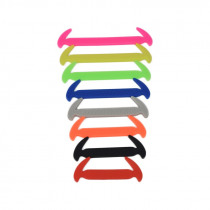 Sickle Type Shoelace Creative Design Shoelaces No Tie Elastic Silicone Shoe Lace Sports Casual Shoe Accessories Sneakers Strings