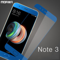 For Xiaomi mi note 3 glass screen protector MOFi for xiaomi note 3 tempered glass guard film safety 9H protective mi note3 glass