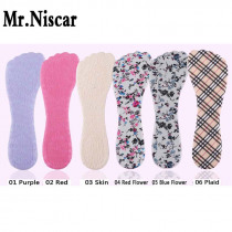 Mr.Niscar 1Pair High Heel Pads Fish Mouth Shoe Pad Fish Head Heels Insole Anti-Pain Red,Purple,Skin,Red Flower,Blue Flower,Plaid