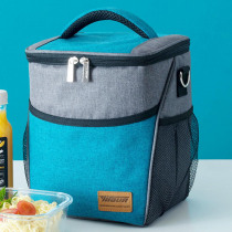 new Portable Lunchbox Bags Thermal Insulated Tote Food Pouch Large Capacity School Picnic Bento Canvas Lunch Box Storage Bag