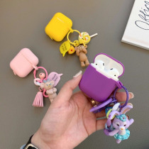 Cartoon Bear and Rabbit Silicone Case for Apple Airpods Case Air pods Accessories Bluetooth Earphone Headphone Protective Cover