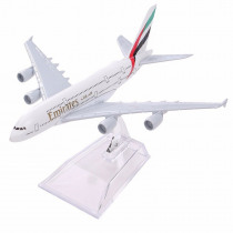 Air Emirates A380 Airlines Airplane Model Airbus 380 Airways 16cm Alloy Metal Plane Model w Stand Aircraft M6-039 Model Plane