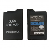 3.6V 3600mAh Lithium Rechargeable Battery For Sony PSP 1000 PlayStation Portable PSP1000 Console Replacement Batteries