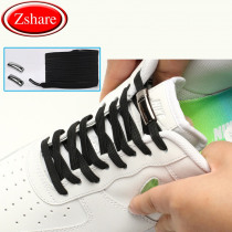 New 1 Second Quick Magnetic Shoelaces Elastic High Quality Flat Shoe laces No Tie Outdoor Leisure Sneakers Lazy laces