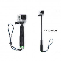 Aluminum Alloy Retractable Hand-held sp Selfie Stick 19 Inch Extendable Camera Action Camera Handheld Monopod for Gopro