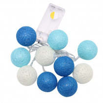 LED cotton ball string home decoration lamp 10/20 ball lumiere mariage decoration LED light string D25