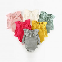 Baby Girl Romper 0-2Y Autumn Winter Newborn Baby Clothes For Girls Long Sleeve Kids Boys Jumpsuit Baby Girls Outfits Clothes