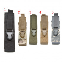 Molle System 1000D Flashlight Molle Pouch Military Accessories Airsoft Hunting Tool Pouch Molle Clip Flashlight bag
