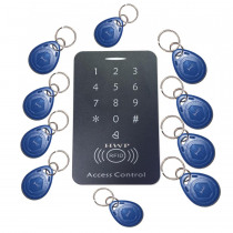 Free shipping Keypad Access Control  RFID Proximity Door Access Control System 125KHZ  10 cards free