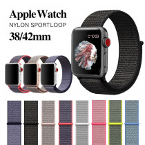Strap For Apple watch band 4 42mm 38mm 3 with iwatch 44mm 40mm strap Sport Nylon loop strap accessories 3/2/1