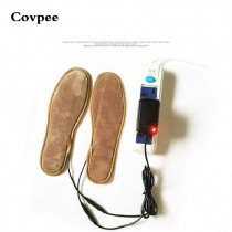 Covpee winter Warming USB Electric Powered Heated Insoles For Shoes Boots Keep Feet Warm New USB heated insole for men women