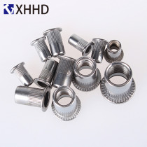 Flat Head Rivet Nuts Metric Thread Insert Riveting Nut Rivnut Nutsert 304 Stainless Steel M3 M4 M5 M6 M8 M10 M12