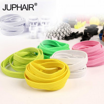 1 Pair New Products Lazy Laces Elastic Sports Flat Shoelaces Children's Adult DIY Anti-Loose Tight-fitting Free Tied Lace Buckle