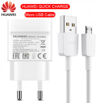 Original Huawei Quick Charger Micro USB Cable P10 lite Mate 10 lite USB Fast Charge For P Smart 2019 MediaPad M3 Y9 2019 5v9v 2a