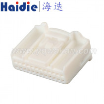 Free shipping 1set 24pin auto electrical housing plug 24way plastic wiring unsealed connector with pins 1318917-1