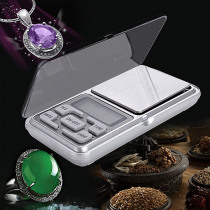 Mini Digital Scale Weight 500g Precision 0.1g Electronic Pocket Weight  Balance Weight Jewelry Scales BS