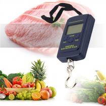 40kg x 10g Portable Hanging scale mini Electronic Scale Luggage Balanca Digital Handy Weight Hook Scale
