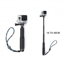 19 Inch Action Camera Handheld Monopod Extendable Camera Selfie Stick Light weight Tripod for SJ4000 for Gopro HERO 5/2/3/3+/4
