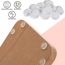 Rubber Bumper Damper Rubber Feet Pads Durable Silicone Feet Pads Cylindrical Drawer Stop Cushion Furniture Legs