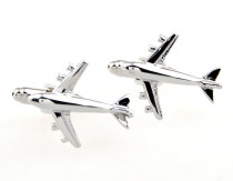 Free Shipping By DHL 2015 Sale Real Tie Clip Lepton Fashion Airbus Styling Cufflinks Men's Plane Cufflink For Men Gifts Cufflink