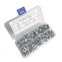 90pcs T Nuts M3/M4/M5/M6/M8 Four Claws Nut Rivet Nut Pronged Tee Blind Nuts  For Wood Furniture