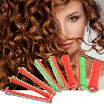 80pcs/set DIY Cold Perm Rod Salon Hair Roller Curling Curler Rubber Band Hair Clip Hairdressing Maker Styling Tool Dropshipping