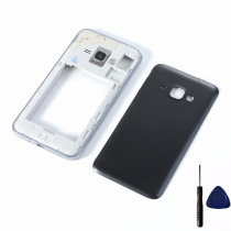 For Samsung Galaxy J1 2016 J120 J120F J120M J120H J120FN Housing Middle Frame Cover + Battery Back Cover + Tools