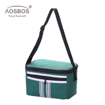 Aosbos 5L Portable Oxford Lunch Bags Women Men Thermal Insulated Bento Tote Bag Fashion Waterproof Cooler Box bolsa comida