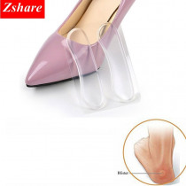1 Pair Silicone Soft Insert Heel Liner Grips High Heel Comfort Pads Feet Care Accessories HT-4