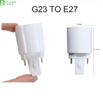 BEYLSION G23 To E27 E26 Base Socket CFL LED Halogen Light Bulb Lamp Adapter Holder Converter 110-240V