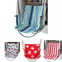 Fashion 8 Color Oxford Deluxe Hammock Garden Dormitory Bedroom Indoor Hanging Chair For Child Adult Swinging Single Safety Chair