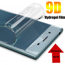 For Sony Xperia XZ XZ1 XZ2 XZ3 Compact Premium Soft TPU Front Full Cover Screen Protector Transparent Protective Hydrogel Film