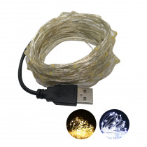 1M/2M/5M/10M USB LED String Lights Wine Bottle Cork Fairy Light Outdoor Battery Operated Garland Christmas Party Home Decoration
