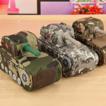 Tank Shaped Modeling Cool Stationery Pencil Case Large Capacity Pen Bag Pouch Storage Box Students Prize with Code Lock random