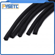 2pcs 3D Printer Parts Length 30CM Textile Sleeve Cable Wire Wrapping Power Heatbed Connected Cable For Prusa I3 MK3