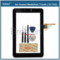 Tablet Touch Screen Digitizer For Huawei MediaPad 7 Youth Touch Panel for Huawei S7-701u Touch Glass Sensor Lens AAA With Tools