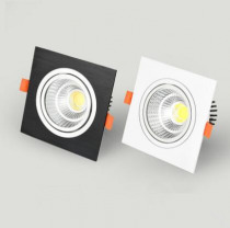 square cob Dimmable Led downlight light Ceiling Spot Light 5w 7w 9w 12w  ac110-230V ceiling recessed Lights Indoor Lighting