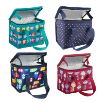TEAMOOK 4 patterns Portable Oxford Lunch Bag Thermal Insulated Lunch Box Food Picnic Lunch Bags For Women Kids Lunchbox Bag