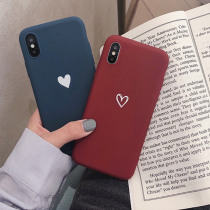 For Meizu M5 M3 Note M3s M5s S6 A5 MX5 Love Heart Print Back Cover For Meizu M6 Note Retro Lovely Pattern Matte Soft TPU Cases