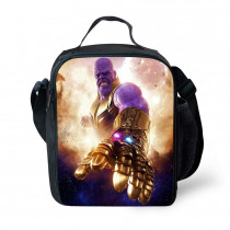 Children lunch bag fashion Avengers League cartoon printing thermo food insulated bag casual travel picnic bag thermal lunch box