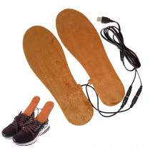 1 Pair USB Electric Heated Insoles Soles for Shoes Winter Shoes Boots Pads Foot Warmer Heater Man Heating Templates