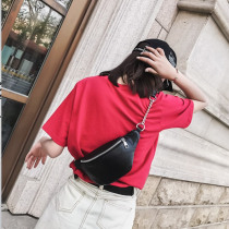 1 PC Waist Bags for Women 2019 Fashion PU Fanny Pack Phone Key Pouch Chest Bag Small Purse White Black Belt bags
