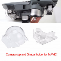 Camera Lens Cap and Gimbal Holder Mount Guard for DJI Mavic Pro Platinum Drone Camera Stabilizer Protector Dust-proof Cover Cap