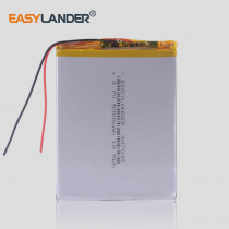 3.7V 5000mah (polymer lithium ion battery) Li-ion battery for tablet pc 7 inch MP3 MP4 [407095] replace High capacity 357095