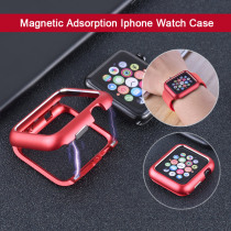 JANSIN metal case cover For Apple Watch series 4 44mm 40mm 42mm 38mm for iwatch 3 2 1 magnetic adsorption protective frame shell