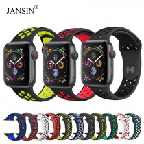 Sport Silicone strap for Apple watch band series 4 44mm 40mm bracelet wrist Watchband for apple watch 42mm 38mm iwatch 3 2 1
