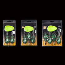 method feeder Fishing Feeder Quick Release Mould set Carp Terminal Tackle 4 Feeders and 2 Method Moulds 40g 50g 1 set