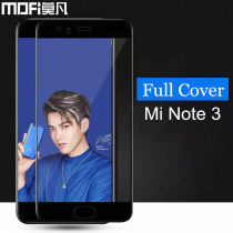 Xiaomi mi note 3 glass tempered MOFi original xiaomi mi note 3 screen protector full cover blue xiaomi mi note3 glass film 5.5